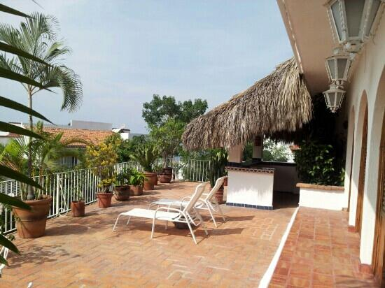 Casa de los Arcos: our wonderful private patio