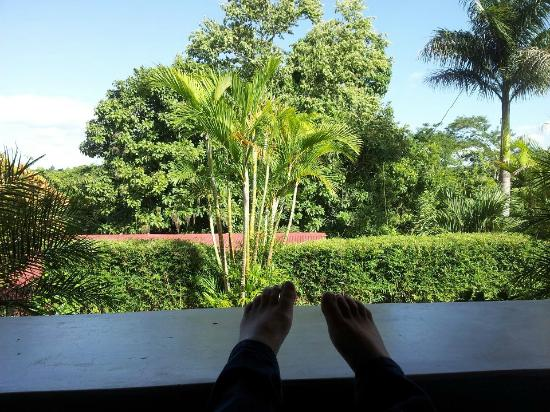 San Ignacio Resort Hotel: View from balcony