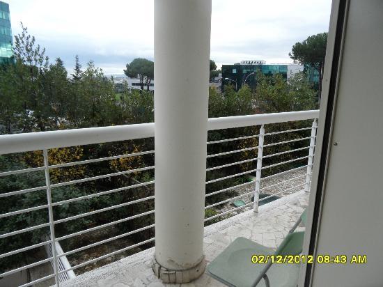 Hotel Tre Fontane: dal balcone