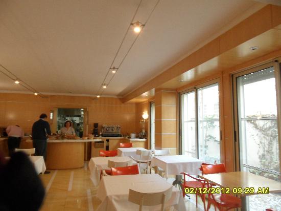 Hotel Tre Fontane: sala colazione