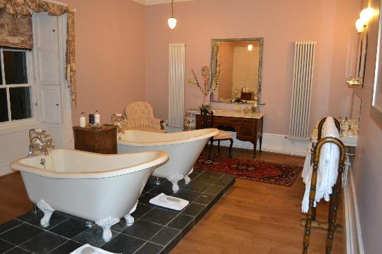 Boath House Hotel: Room 3 Bathroom
