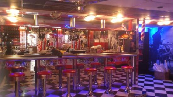 Rockwell's Diner: Bar Area