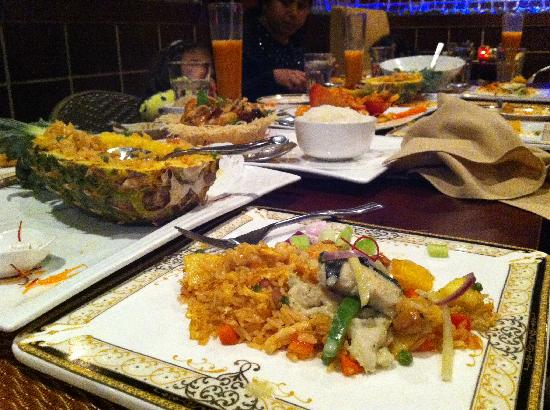 Tamarind Authentic Malaysian & Thai Cuisine: The table