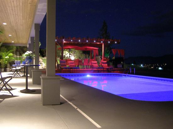 Benchmark B & B: Night Time Pool