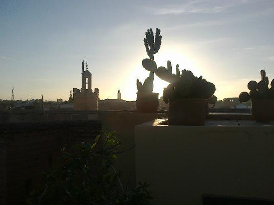 Riad Karmela: Coucher de soleil