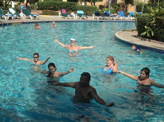 Sunscape Puerto Vallarta Resort & Spa: Haciendo ejercicio ;)