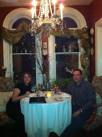 Vienna Historic Inn and Restaurant: Romantic dinner
