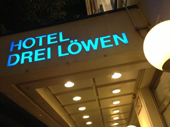 Drei Loewen Hotel: A little beacon of comfort!