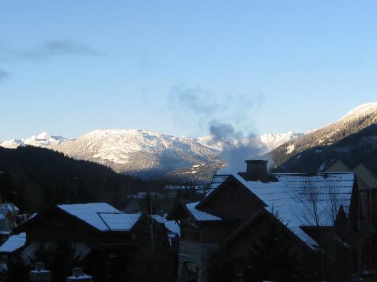 ليجيندز ويسلر: View from our room in the morning