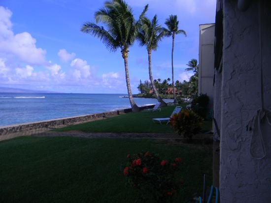 Lokelani Condominiums: View from our lanai