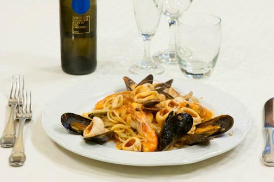 Al Baitone: Spaghetti allo scoglio