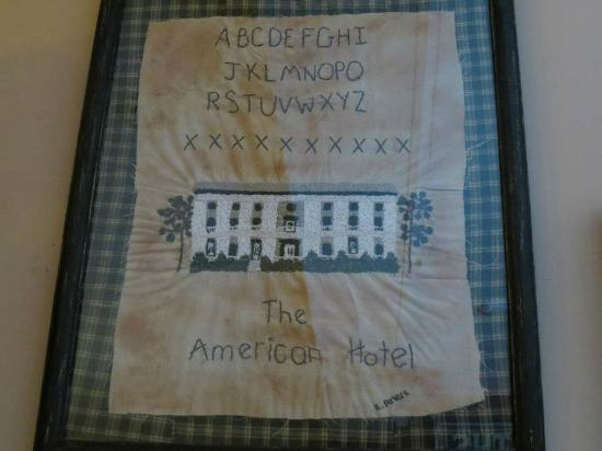The American Hotel Restaurant: Sampler