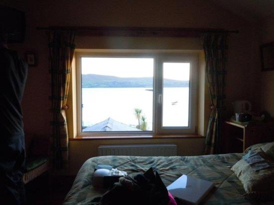 Dingle's First Cottage by the Sea: view from our room