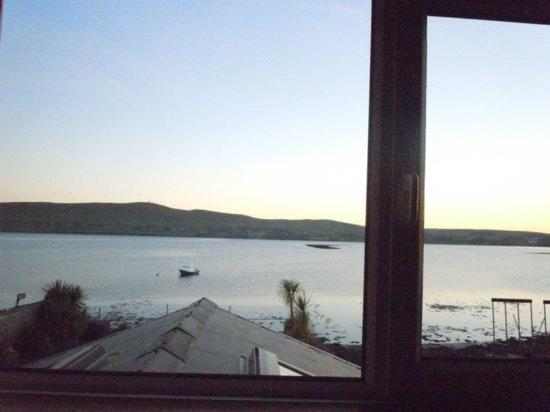 Dingle's First Cottage by the Sea: out our window