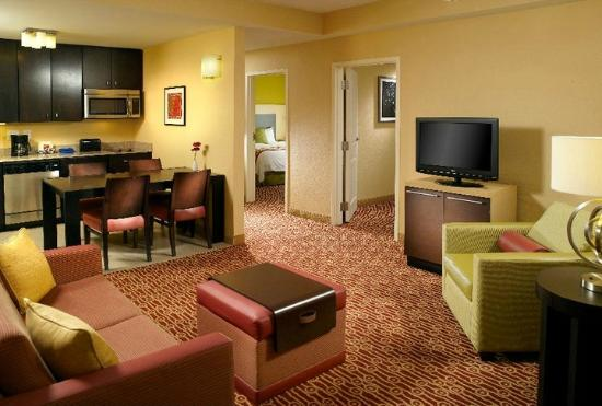 Two Bedroom Suite Picture Of TownePlace Suites Charlotte Inspiration Hotels 2 Bedroom Suites