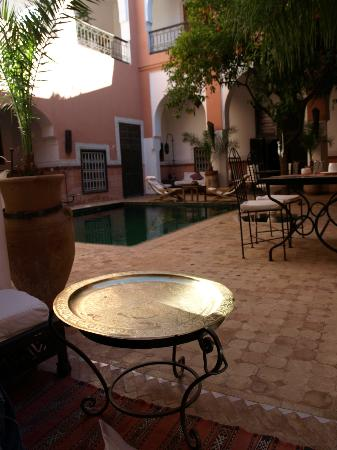 Riad Barroko : Cour intérieure