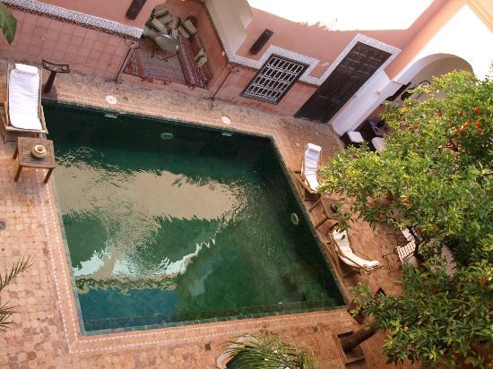 Riad Barroko: Vue de la gallerie