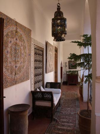 Riad Barroko: Gallerie vers notre chambre