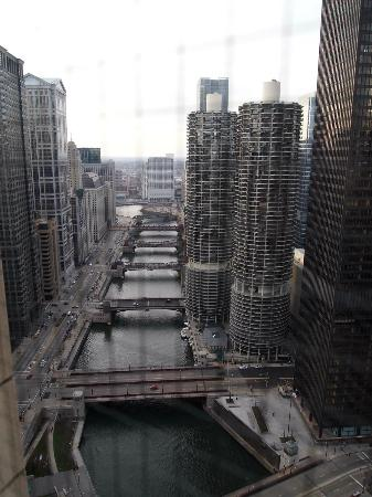 Club Quarters Hotel, Wacker at Michigan: view