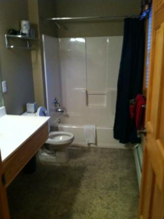 StoneBrook Resort: Bathroom