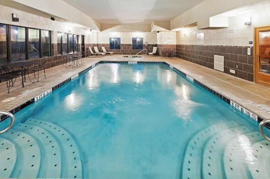 Hampton Inn & Suites Dumas: indoor pool and whirlpool