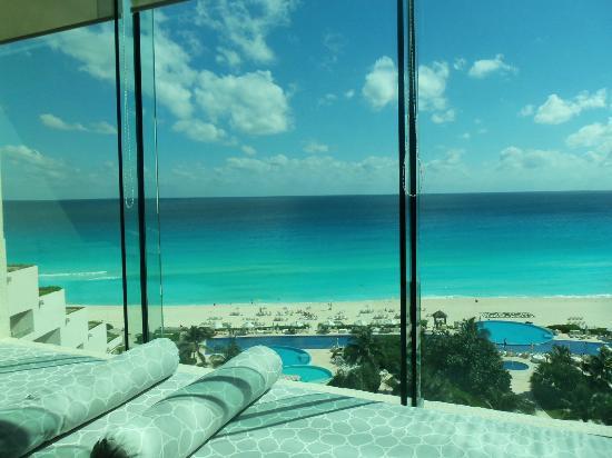 Live Aqua Beach Resort Cancun Fabulous View From Lounge
