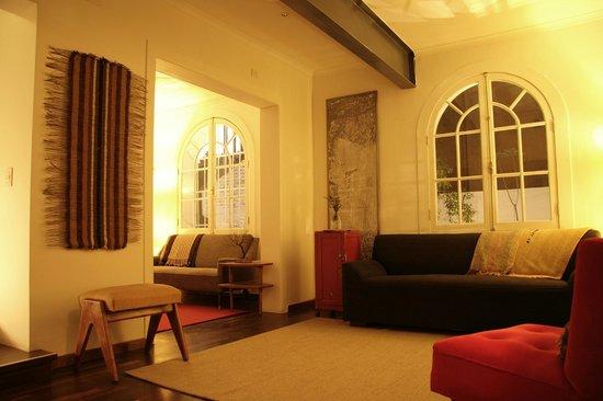 Meridiano Sur, Petit Hotel: estar