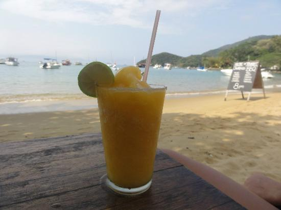 Cafe do Mar : Now the peach frozen Caiprinha...