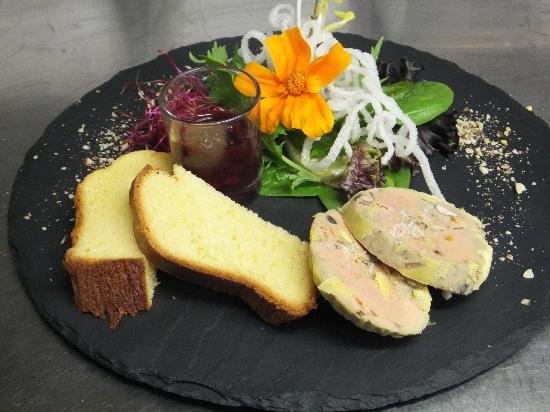 Le Papet: nougat de foie gras