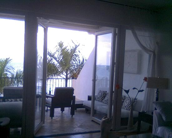 Beach Palace Cabarete: Balcony view from living room