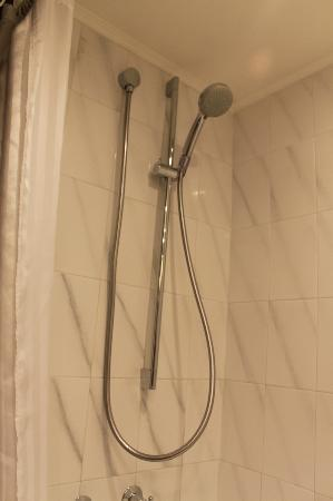 Marco Polo Hongkong Hotel: Room 1432 - shower head