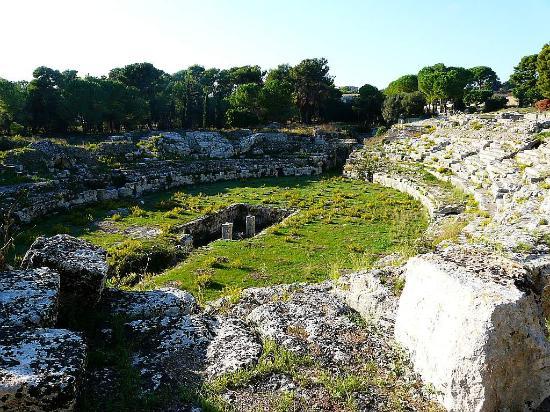 Hotel Borgo Pantano: The Roman Amphitheatre, Syracuse