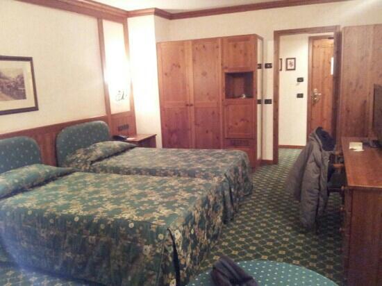 Hotel Cristallo: Camera standard