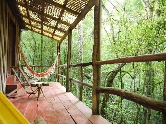 Posada La Bonita: Relax at the hammock