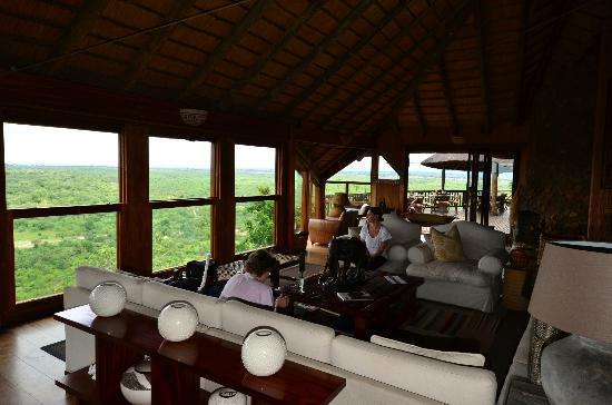 Ulusaba Safari Lodge: Beautiful view from Rock Lodge
