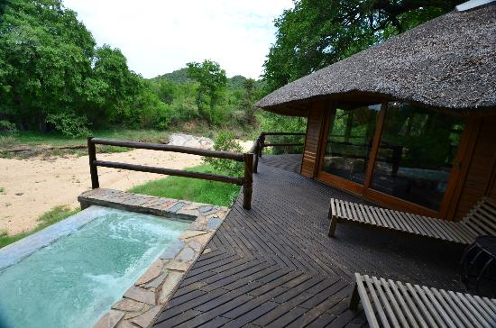 ‪‪Ulusaba Safari Lodge‬: Plunge Pool
