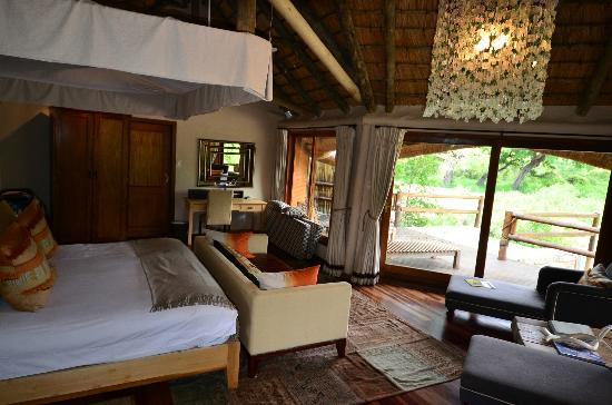 Ulusaba Safari Lodge: View from bedroom