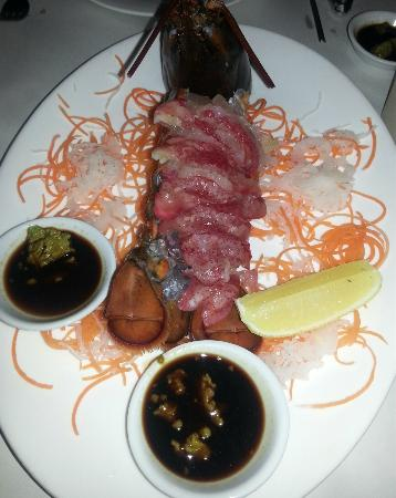 The Lobsterman : Lobster sashimi