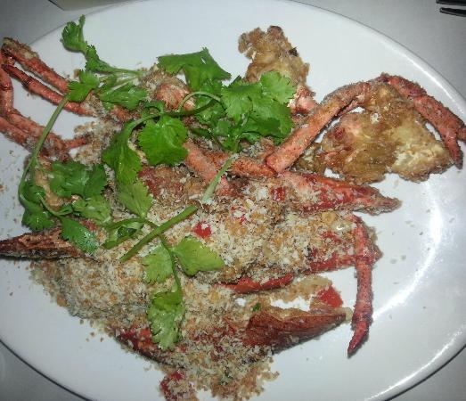 The Lobsterman : Lobster fried in garlic