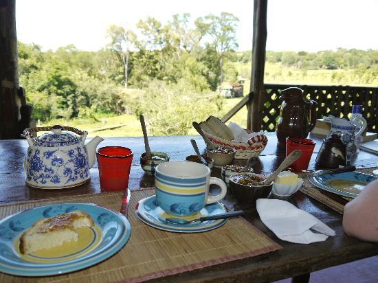 Posada La Bonita: Breakfast
