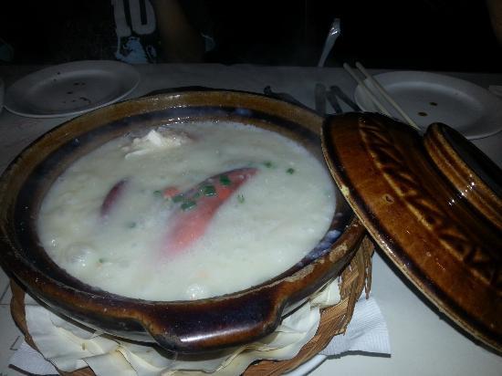 The Lobsterman : Lobster porridge