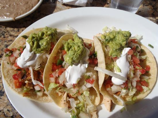 Mexico Bravo Cantina Bar & Grill: Soft Tacos