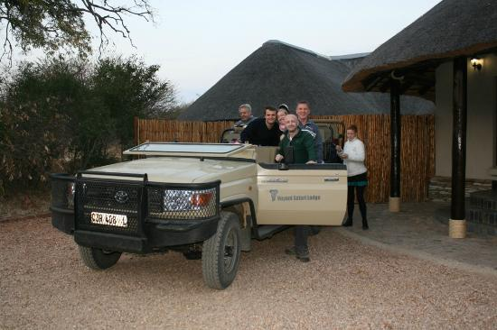 The Vuyani Safari Lodge: Morning Drive.