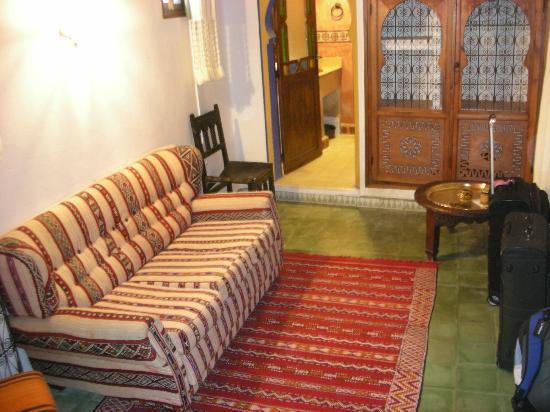 Hotel Riad Casa Hassan Restaurante: Hotel Riad Casa Hassan our room