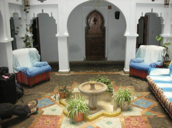 Hotel Riad Casa Hassan Restaurante: Hotel Riad Casa Hassan common area