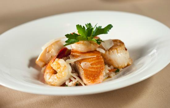 David's Restaurant & Lounge: Seafood Risotto
