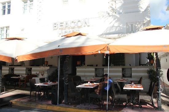 Beacon Hotel: Restaurant del hotel donde también se desayuna