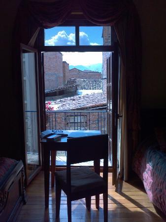Hotel Los Balcones: Donde estudio'.