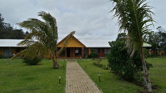 Cabanas Rapa Nui Orito : Reception Area