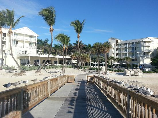 The Reach Key West, A Waldorf Astoria Resort: From the desk looking at the hotel